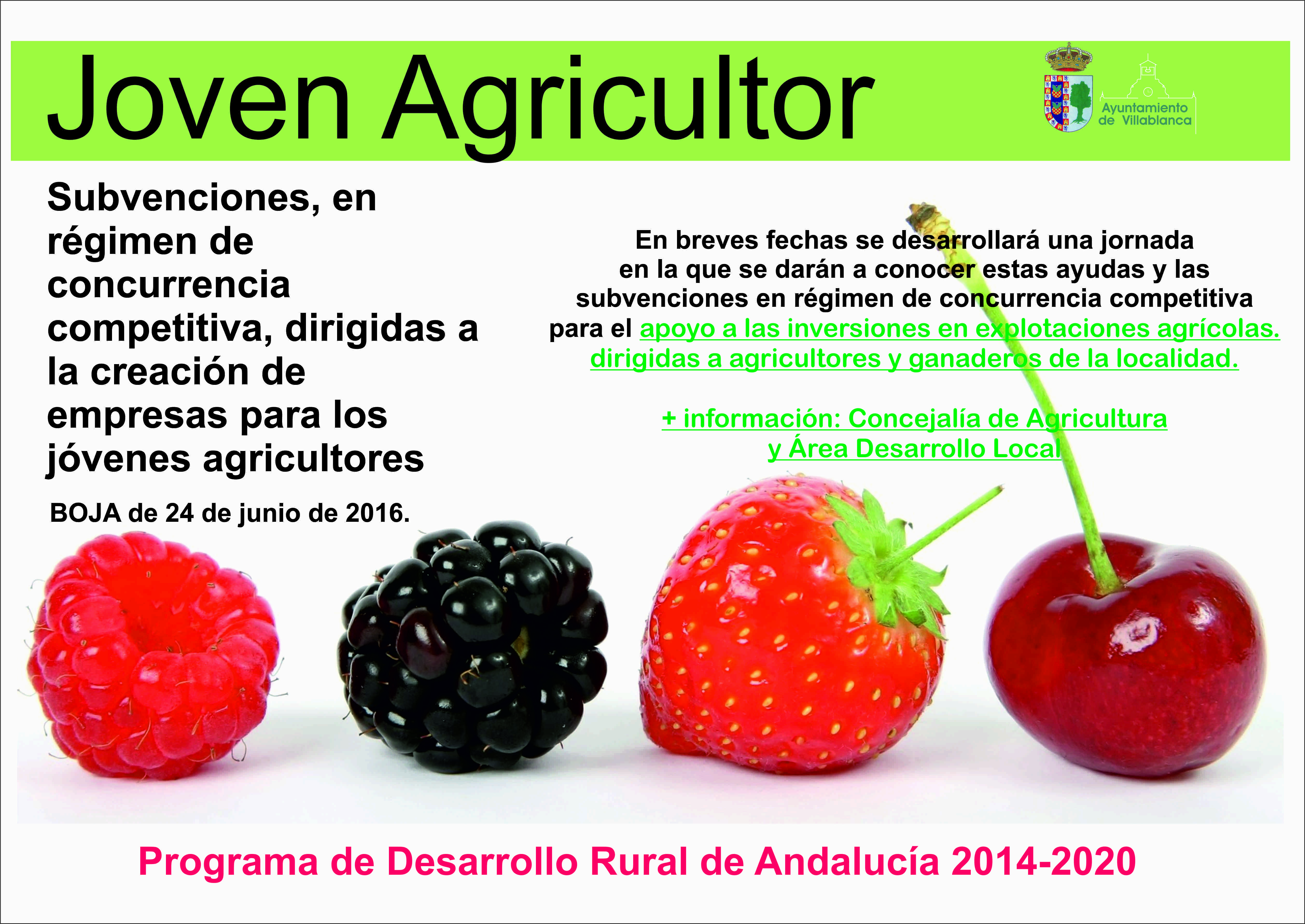 joven agricultor