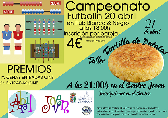 Futbolin y tortilla web
